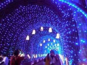 Passage lumineux à l'entrée