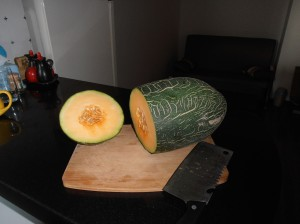 Un melon de Hami