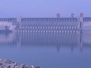 Les déversoirs du barrage